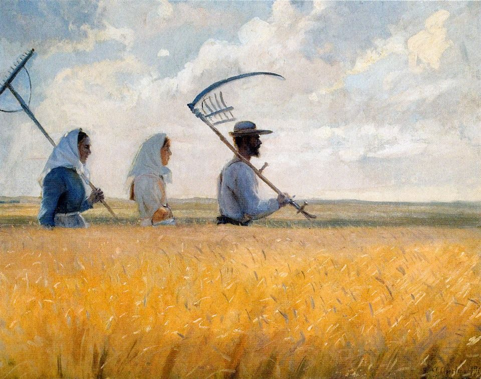 Anna Ancher I Hoestens Tid
