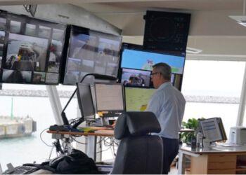 Havnevagten er under hjemsendelsen af kontoret fortsat bemandet. Foto (arkiv): Hirtshals Havn.