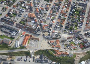 Den Grønne Plads i Hirtshals. Foto: Hans Hunderup.