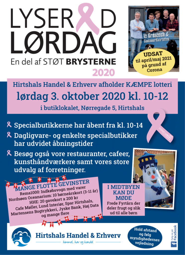 Lyseroed Loerdag
