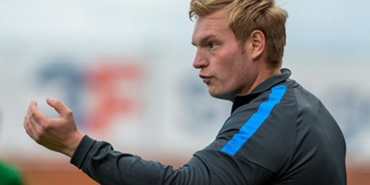 Cheftræner Niclas Hougaard. Foto: Jess Madsen.