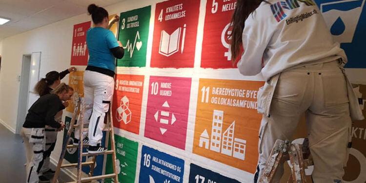 Verdensmålene har tidligere været på dagsordenen på EUC Nord, men er også allerede inddraget i undervisningen på mange folkeskoler i Hjørring Kommune. Foto: Arkiv.