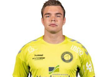 Andreas Hussmann, der sæsondebuterede med et fint indhop for Elitesport Vendsyssel.