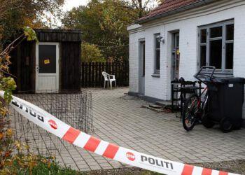Det brændte hus ved Vråd. Foto: Per Frank Paulsen.