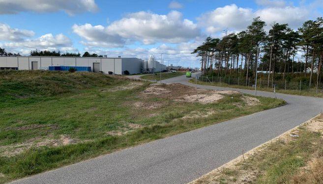 Danish Salmon A/S har søgt og fået tilladelse til midlertidigt jorddepot nordvest for produktionsalægget ved Niels Juelsvej i Hirtshals.
