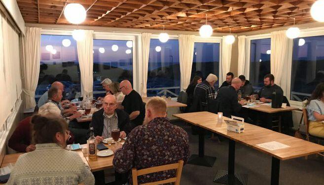 Tornby Bjergelavs generalforsamling på Restaurant Munch.