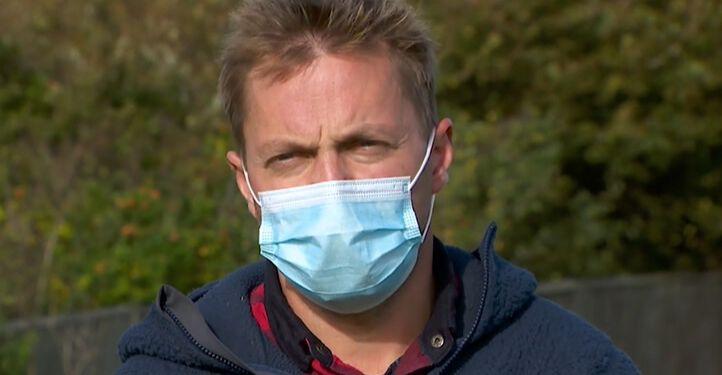 Minkavler Kristian Frederiksen. Screendump: TV2 Nord.