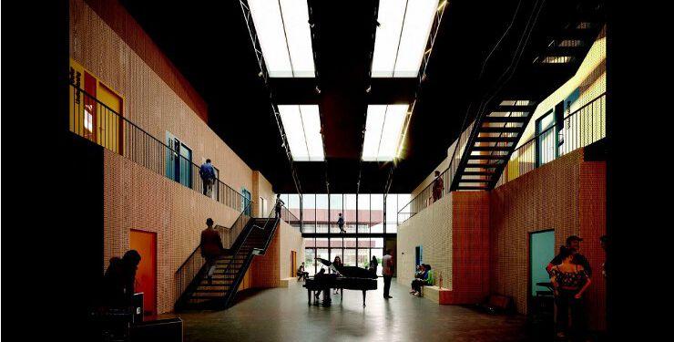 Visualisering af Kulturskolen i Hjørring.