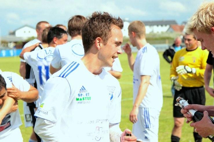 Michael Skytte Pedersen Hirtshals Boldklub FlaskePosten 1