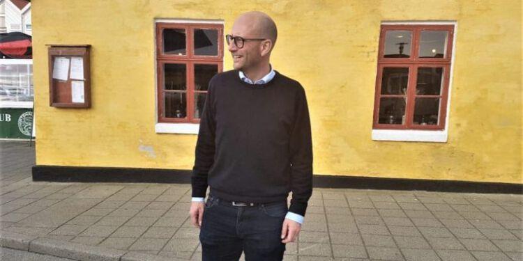 Socialdemokraten Rasmus Prehn før et debatarrangement på Hirtshals Kro. Foto: Arkiv.