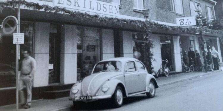 Eskildsen var byens store møbelhandel i Nørregade.