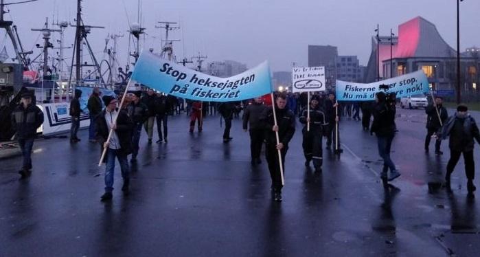 Fiskere Protest Aktion 2