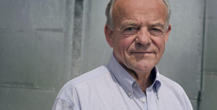 """Hasse Boe – journalist og forfatter, der debuterer med bogen """"Rugbrødsjournalist blandt stjerner Foto: Soffi Chanchira Larsen."""
