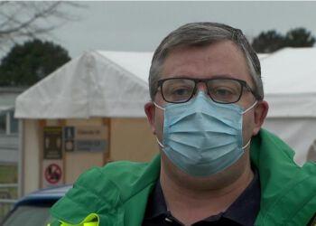 Jan Nybo er chef for Covid-19 Testcenter Danmark i Region Nordjylland.