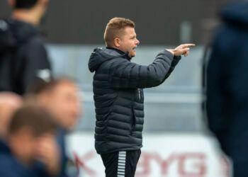 Cheftræner Lasse Stensgaard hos Vendsyssel FF. Foto: Arkiv.