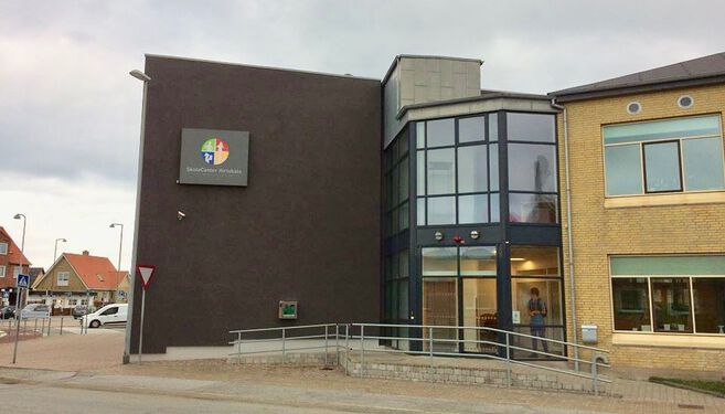 Skolecenter Hirtshals Logo FlaskePosten 1