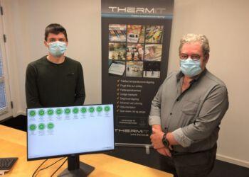 ThermITs ejere Steffen og Ivan Lindgren Hansen (th) er klædt på til udfordringerne.